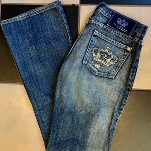 CRYSTAL Crown Rock & Republic Jeans